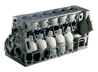 MAN 10.5 and 12.4 Litre Cylinder Blocks - D20 and D26 Engines